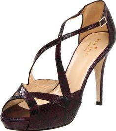 Kate Spade - New York New York Women's Get Platform Pump Peep Toe Shoes, Platform Pumps, Cool Things To Buy, Kate Spade, Pairs, Sandals, My Style, Purple, Heels
