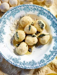 Butter & Sage Gnudi   Comfort Food   Jamie Oliver These look good & they're easy to make. My kind of recipe