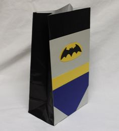 Batman Superhero Kids Birthday Party Favors by CherishedBlessings, $13.99