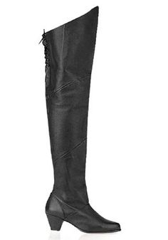 Pleaser Womens Maiden8828 Medieval BootBlack Pig Leather12 M US * You can find out more details at the link of the image.
