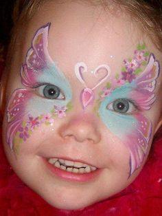 Marcela Murad Baby Soft Butterfly face painting
