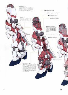 darkoess comment: a reference for anyone whos planning to detailing inner frame of the white one. Arte Robot, Gundam Astray, Gundam Wallpapers, Gundam Custom Build, Unicorn Gundam, Mechanical Art, Gundam Seed, Gundam Art, Mecha Anime