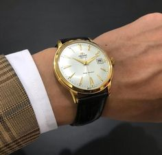 Dress up - Dress down, this classic does not disappoint. ⌚: FAC00003W0 Contemporary Classic, Omega Watch, Dress Up, Accessories, Fashion, Moda, Costume, Fashion Styles, Fashion Illustrations