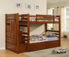 storage bunk bed | ... version of a set of bunk beds with storage. (source: Fit in House
