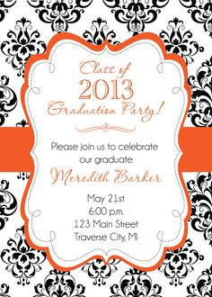 123 best graduation invitations images graduation invitations