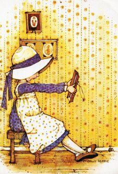 Vintage Holly Hobbie postcard yellow by CuteEyeCatchers on Etsy Hobbies To Take Up, Hobbies For Women, Cheap Hobbies, Hobbies That Make Money, Fun Hobbies, Sarah Kay, Holly Hobbie, Hobby Room, Hobby Lobby