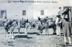Vendedores de agua Circa 1914. Cortesía: www.MexicoEnFotos.com (Mexico)