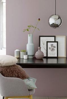 Ein sanftes Altrosa als Wandfarbe. #Wandgestaltung #Wohnideen #Wandfarbe #Rose #Altrosa: Ein sanftes Altrosa als Wandfarbe.  #Wandgestaltung #Wohnideen #Wandfarbe #Rose #Altrosa