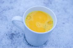 złote mleko na przeziębienie i ból gardła