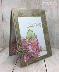 Heartfelt Blooms, SAB 2018, Stampin Up