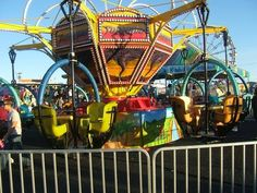 Image detail for -Twirling Ride at New Mexico State Fair