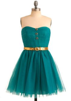 Love Betsey Johnson + this color dress!