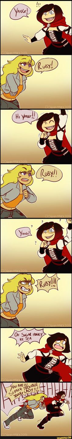 rwby, ruby, yang<<< starting to think I should wait for someone to do this rather than upload the individual images.
