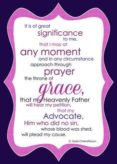 D. Todd Christofferson  -July 2014 Visiting Teaching Printable. The divine mission of Jesus Christ: Advocate.