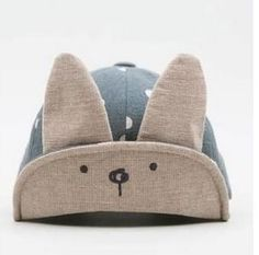 Boys' Baby Clothing Humorous Sunproof Baby Hat Cute Ear Adjustable Breathable Daily Casual Gift Summer Caps Toddler Dots Printed Soft Boy Girl Newborn