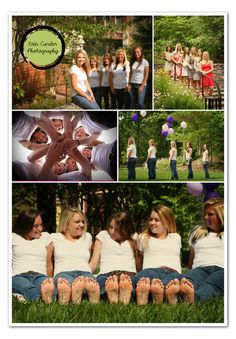 photo shoot idea for group of friends