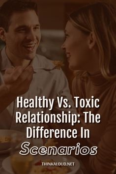 Sometimes, you can't even tell the difference between being in a healthy relationship and a toxic one. As if your love for this person has blinded you. Toxic Relationships, Healthy Relationships, Complicated Relationship, Different, Love You, Te Amo, Je T'aime, I Love You