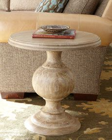 One of our best selling side tables and much less than Horchow