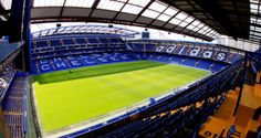 going to see a Chelsea match in London Chelsea Football, Chelsea Fc, Stamford Bridge Chelsea, San Mamés, Live Soccer, Stadium Tour, Soccer Match, Soccer Games, Sports