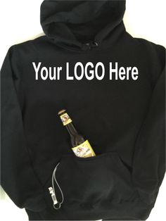 Custom Tailgate hoodie!  Hoodie has built in can cooler and bottle opener!  Fun, cute, great gift!!  Great for sports, concerts, boating, camping etc.  https://www.etsy.com/listing/482239146/custom-tailgate-hoodie-sweatshirt-built
