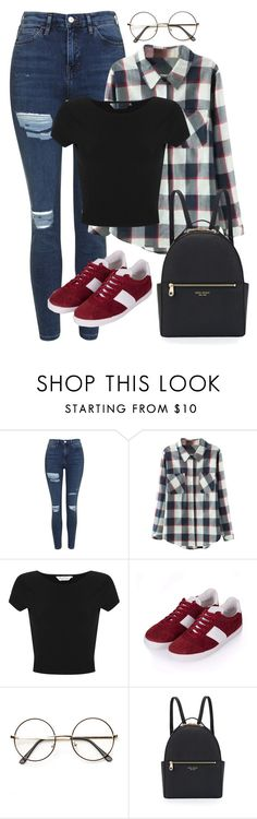 """School inspired outfit - BTS // Rap Monster"" by berrie95 on Polyvore featuring Topshop, Relaxfeel, Miss Selfridge, Henri Bendel, bts, BangtanBoys, rapmonster and Namjoon"