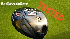 SRIXON Z545 DRIVER REVIEW