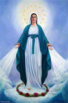 Our Lady, Mother of mercy, Pray for us!