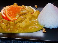 MAKE-FOOD: Pomerančové kuřecí na kari a kokosovém mléce