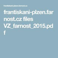 frantiskani-plzen.farnost.cz files VZ_farnost_2015.pdf