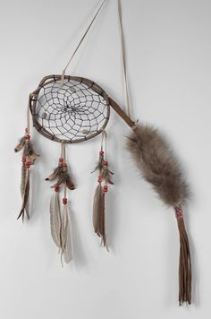 °Wood DreamCatcher Native Talking Stick Native by MetisArtsJolin