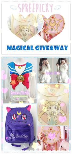 i really wat this cute sailor moon bag!♥