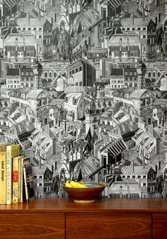 Paris Rooftops | Duorone | Wallpaper Republic | Milton & King