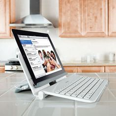 Universal Bluetooth Tablet Station With Wireless Keyboard and USB Charger Officehttp://coolpile.com/gear-magazine/universal-bluetooth-tablet-station-with-wireless-keyboard-and-usb-charger/ -  via coolpile.com   #Android #Blackberry #Bluetooth #Brookstone #ChargingStations #DockingStation #Gifts iPad #Office #Tablets #USB #coolpile