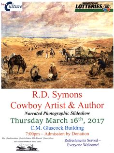 Enjoy this narrated slideshow presentation on the writings and artwork of legendary Cowboy R.D. Symons.