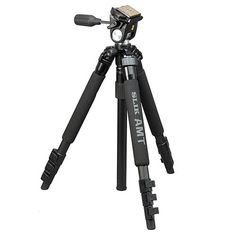 Introducing Slik 613034 Pro 340 EZ Tripod With 2way PanTilt Head  Max Height 57 Inches Max Load 8 Lbs. Great product and follow us for more updates!