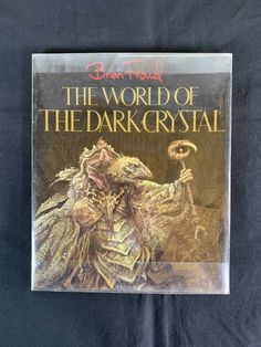 The World of the Dark Crystal - Brian Froud - 1982 First Edition - Big Paperback 9780394712802 | eBay Great Books, New Books, Broken Movie, Concept Art Books, Reference Bible, Brian Froud, Rich Dad Poor Dad, The Dark Crystal, Large Prints
