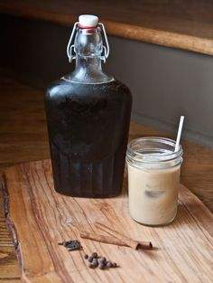 gingerbread syrup for lattes, hot cocoa or cocktails