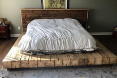 The Epic Barn Beam Bed Frame! The post The Epic Barn Beam Bed Frame! appeared first on Wood Ideas.
