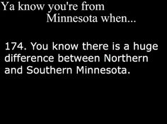 Duluth and above is north. Simple>>>>>and I live in Two Harbors which is 30miles north up the shore from Duluth!