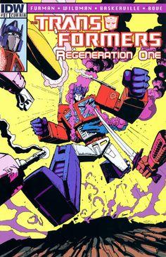 Transformers Regeneration One #81 Incentive Geoff Senior Variant Cover