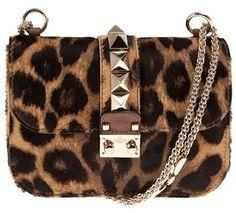 Valentino Leopard Print Bag in Animal (leopard)