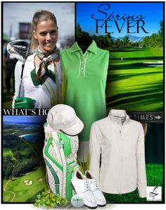 """Love our golf fashion sets? Love the """"Golf Fever"""" Set more! Only at lorisgolfshoppe.polyvore.com #golf #fashion #lorisgolfshoppe"""