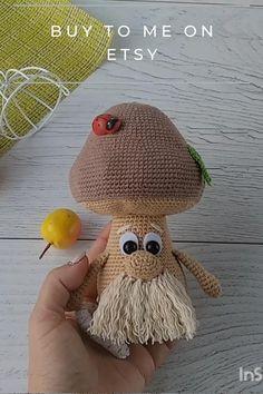 Crochet Fairy, Crochet Cross, Cute Crochet, Crochet Dolls, Crochet Toys Patterns, Amigurumi Patterns, Stuffed Toys Patterns, Woodland Decor, Woodland Baby