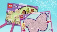 Download: Animal maze and footprint fun! - Downloads - Activities - LEGO® Friends - LEGO.com - Friends LEGO.com