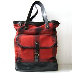 "RALPH LAUREN BAG 16""  X LARGE LEATHER Handbag TOTE Carry On  *EXCELLENT*  #RalphLauren #TotesShoppers"
