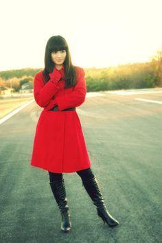 I want a red coat...sigh