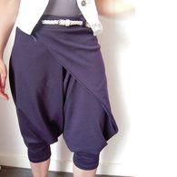 07/2010 Wrap trousers with leg band #109A – Sewing Patterns | BurdaStyle.com
