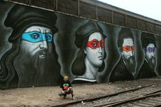 Teenage Mutant Ninja Turtles Painted As The Renaissance Painters They Were Named After