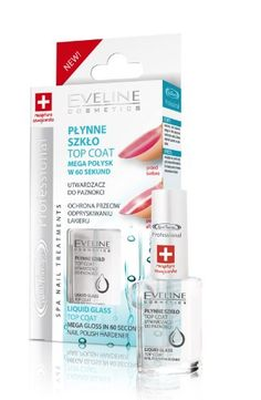 Top Coat Mega Gloss Nail Polish Hardener by Eveline Cosmetics -- Click on the image for additional details.