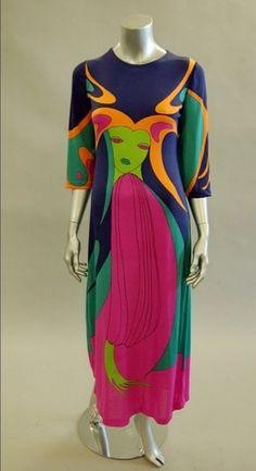 25e69e551b5 Louis Feraud 1970 s. Jessica Martinez · Vintage · Dress ...